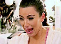 Kim Kardashian's Top 5 crying faces