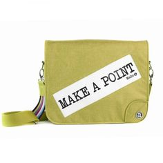 Make a Point bags and backpacks are a cool, unique and personalized way to make a fashion statement. Unique Bags, The Dreamers, Backpacks, Messages, How To Make, Women's Backpack, Texting, Text Posts, Backpack