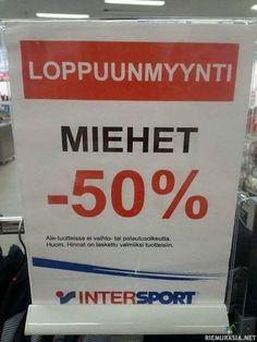 Loput miehet -50%
