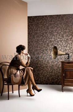 Wallpapers :: Romantic :: Silence :: Silence Calice Coconut No 7278 - WallpaperShop