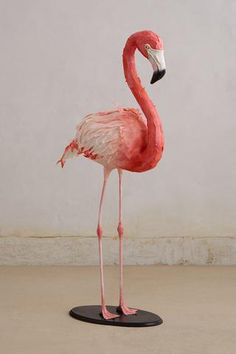 Paper Flamingo.  I adore Flamingos!