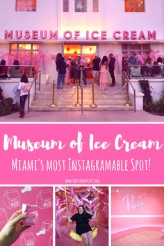 Museum of Ice Cream Miami: A Sweet Treat This post dishes on all of the delicious details about South Florida's newest sweet treat– the Museum [. Usa Travel Guide, Travel Usa, Travel Tips, Travel Destinations, Travel Ideas, Usa Roadtrip, Florida Travel, Miami Florida, South Beach Miami