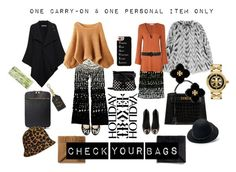 """""""Check Your Bags"""" by erica-waddell ❤ liked on Polyvore featuring Kate Spade, STELLA McCARTNEY, Draper James, Tory Burch, Roland Mouret, MICHAEL Michael Kors, Glamorous, Hermès, Vera Bradley and Casetify"""