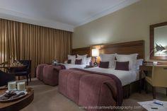 Family Bedroom @ The Lyrath Estate Hotel Kilkenny Ireland - Photo Stylist Naomi Dunelavy Hotel Bedrooms, Dublin Ireland, Places Ive Been, David, Interiors, Photography, Furniture, Home Decor, Fotografie