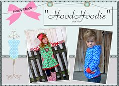 Hooded dress or sweatshirt pattern.