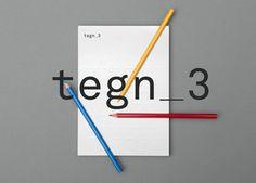 Logo designed by Neue for Norwegian architecture studio Tegn_3