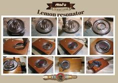 Cigar box guitar resonator: