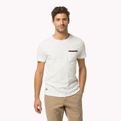 Shop the white cotton crew neck t-shirt from the latest Tommy Hilfiger t-shirts collection for men. Free returns & delivery over 50£. 8719253419195