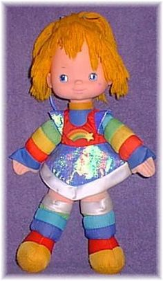 Rainbow Brite I still have my rainbow brite and I an on keeping it forever cause my grandpa gave it to me on my 7 th bday