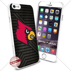 "NCAA Louisville Cardinals iPhone 6 4.7"" Case Cover Protector for iPhone 6 TPU Rubber Case White SHUMMA http://www.amazon.com/dp/B0176L3B1U/ref=cm_sw_r_pi_dp_.eNTwb0CRT015"