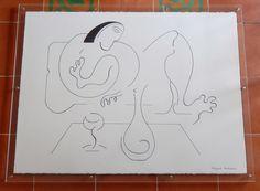 drawing ink 56x75cm + frame  http://www.hildegardehandsaeme.com