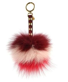 2cdb839ee4035 Michael Kors LOLLIPOP LG POM POM Keychain (Tricolor) Pom Pom Bag Charm
