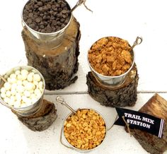 Trailmix station - free downloadable tags
