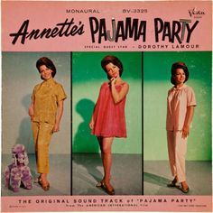 Annette's pajama party