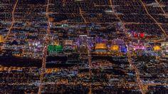 Aerial view of Las Vegas. Photograph © Vincent Laforet.