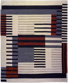 SMYRNA RUG Anni Albers Limited Edition Produced in association with the Josef and Anni Albers Foundation (Smyrna Rug is based on Anni Albers's 1925 study for this design that the artist gave to the Museum of Modern Art, New York)   Christopher Farr