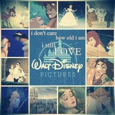 Especially the old Disney movies that you can cuddle up with an old blanket, some hot cocoa, on a cold day. Or any day.<3