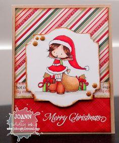 Christmas Cutie - Emma   Digital Stamp