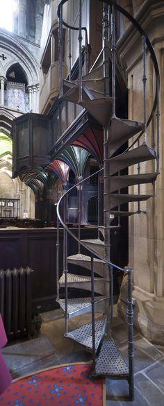 Stairway to heaven Hexham Abbey