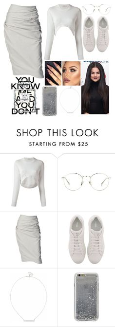 """Only You Know Your True Self"" by jacie ❤ liked on Polyvore featuring Chanel, Givenchy, Linda Farrow, Donna Karan, Fendi, Sole Society and Agent 18"