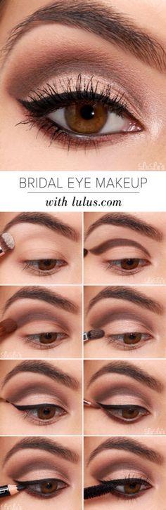 #makeup #eyes #pasoapaso #cafe