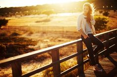 Sun drenched fields #streetstyle #sunset