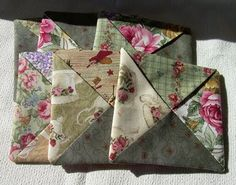 more fabric coasters