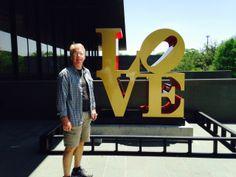 Robert Indiana exhibit at McNay Art Museum in San Antonio, Texas