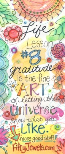 The quickest way to increase your HAPPINESS is with Gratitude!  Pin for later & click to learn more!  http://FIftyJewels.com
