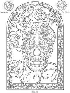 Dover Publications Color Page | Adult coloring books | Pinterest ...