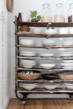 Shoe rack for kitchen storage