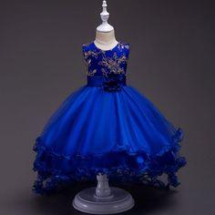 Vestido de Boda Muchacha de Flor Dama De Honor Formal Graduación Cumpleaños Princesa Vestido