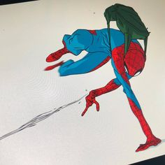 The Art Of Chris Copeland : 🤷🏾♂️ up doing boards all night, and I just needed. Spiderman Poses, Spiderman Art, Amazing Spiderman, Poses Dynamiques, Body Poses, Spectacular Spider Man, Comic Book Superheroes, Dynamic Poses, Marvel Art