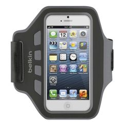 $19.99MSRP%displayPrice%%seller%  If your iPhone doubles as your workout buddy, Belkin's Ease-Fit Armband  will keep it safely at your side while you run, climb, lift, or, well, move. The armband itself is adjustable for a tight fit, but it's constructed from water-resistant material for moisture protection. It's also hand washable, should you need to de-sweatify it from time to time. The otherwise-similar Ease-Fit Plus integrates a key pocket for $10 more.
