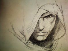 Assassin's Creed : Original : Pencil Drawing