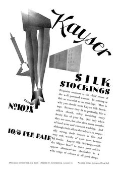Vintage Stuff and Antique Designs Vintage Stockings, Silk Stockings, Vintage Advertisements, Vintage Ads, Lingerie Images, Secret Love, Vintage Lingerie, Nostalgia, Advertising