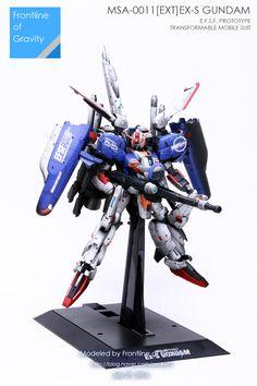 MG 1/100 Ex-S Gundam 'SPOT LIGHT' (GBWC 2016 Korea Entry) - Diorama Build