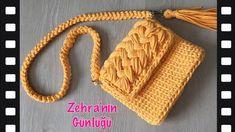 Diy Bags Purses, Yarn Bag, Fashion Design Drawings, T Shirt Yarn, Knitted Bags, Crochet Crafts, Designs To Draw, Knitting, Handmade
