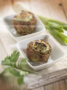 Pieczone karczochy z musztardą Muffin, Polish, Breakfast, Recipes, Food, Morning Coffee, Vitreous Enamel, Essen, Muffins