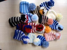 """@holbeckelderaid """"These little hats made by 2 of our craft ladies are on the way to @age_uk as part of their spread the warmth campaign"""""""