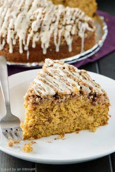 Sweet Potato Coffee Cake is a tried and true breakfast cake that isn't too sweet.