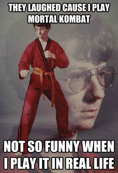 Karate Kyle came into your life and you loved him. So we had no choice but to come with a second round of Karate Kyle. Memes Humor, Funny Memes, Nerd Humor, Kid Memes, Jw Humor, Wife Humor, Nerd Jokes, Humor Videos, Rage Comics