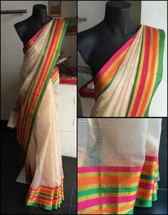 Kota Kerela saree for Onam