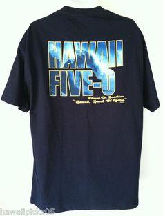 Hawaii Five O Film Crew t shirt - Getting ready for the new season
