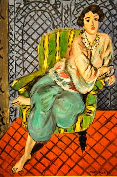 Henri Matisse - Seated Odalisque Left Leg Bent, 1926 at Baltimore Museum of Art Baltimore MD by mbell1975, via Flickr