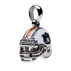 Auburn University 3-D Football Helmet Bead Charm - Fits Pandora & Others - Go Tigers! by Stone Armory -- Awesome products selected by Anna Churchill