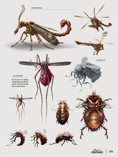 Concepto de insectos - fallout 4