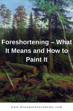 Foreshortening in art refers to the way we perceive an object as it recedes in space. This post goes into much detail of what it means and how it can be painted. #drawpaintacademy Oil Painting Techniques, Acrylic Painting For Beginners, Painting Tips, Art Techniques, Painting Art, Portrait Of Madame X, Art Tutorials, Watercolor Tutorials, Painting Tutorials