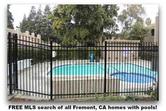 FREE MLS search of all Fremont, CA homes with pools!