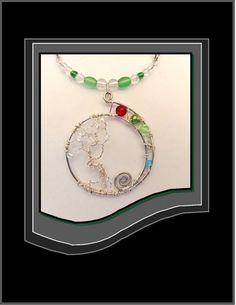 family birthstone jewelry, mother jewelry, tree of life jewelry, mom | ArtisticCreationsbyRose - Jewelry on ArtFire
